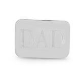 Stainless Steel Square Cufflinks - Classic or Engraved DAD
