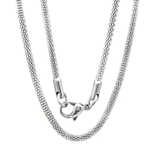 STAINLESS STEEL NECKLACE 16""
