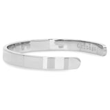 Stainless Steel Chicago Coordinates Cuff