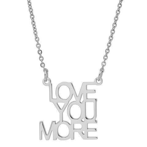 Ladies Stainless Steel LOVE Necklace
