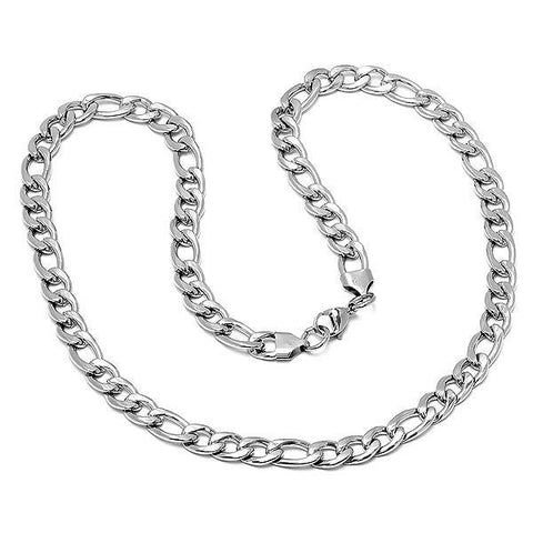 Stainless Steel Basic Link Chain Necklace
