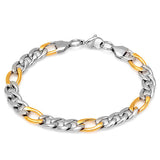 Men's Bracelet in Two-Tone