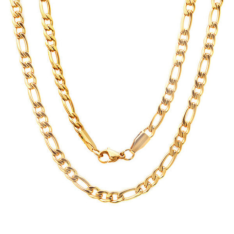 Men's 18 KT Gold Plated Filigree Necklace