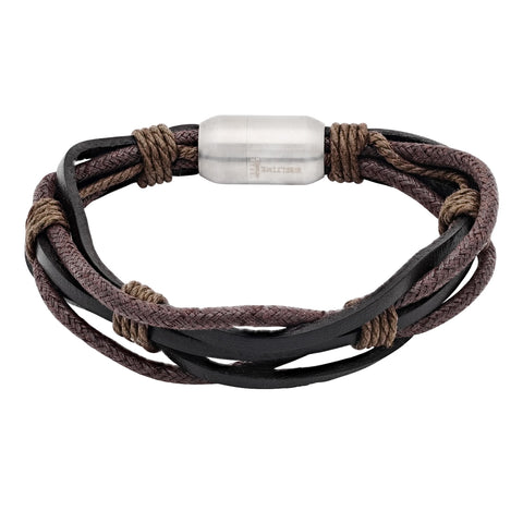 Genuine leather bracelet