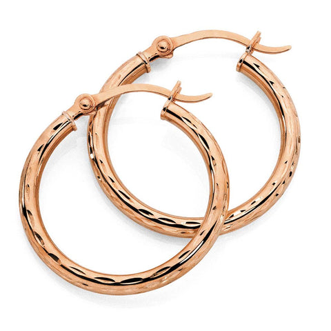 Steeltime Hoop Earrings for Women