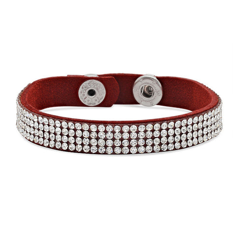 Steeltime Red Fashion Bracelet