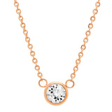 Ladies Swarovski Elements Solitaire Necklace