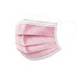 Pink Face Masks Bundle - 100 Pack (COVID-19)