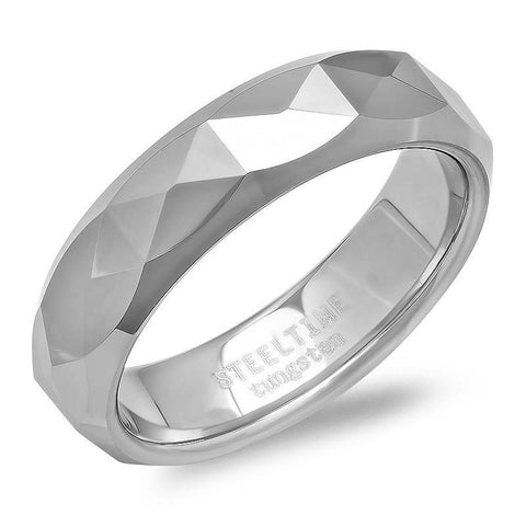 Stainless Steel Texture Ring