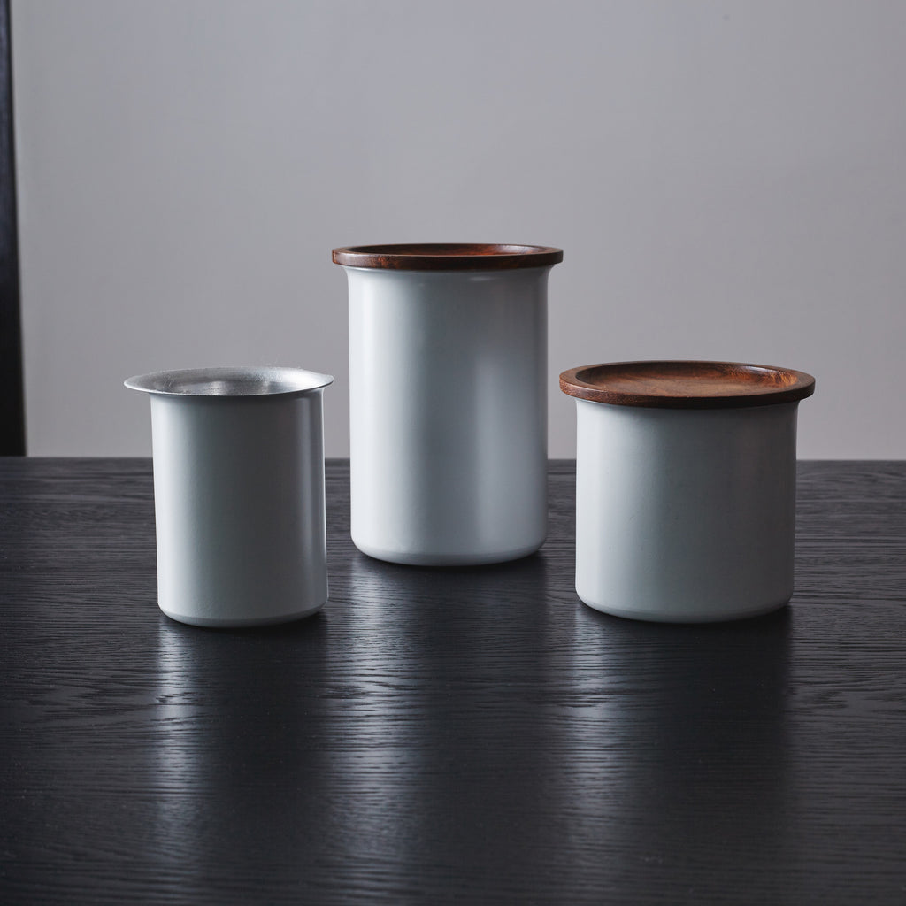 Ayasa Grey Storage Jar