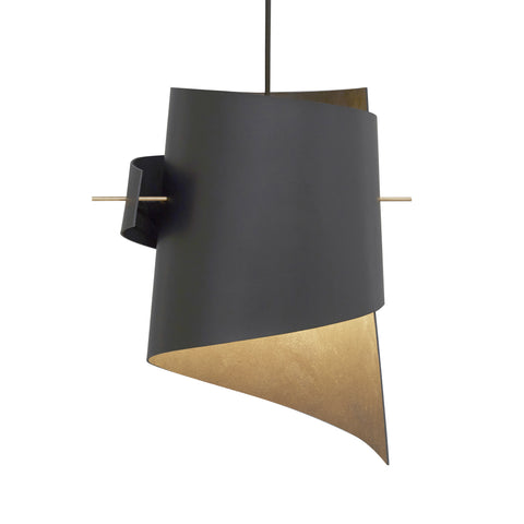 ML01 (Lamp) - Black Leather - Large