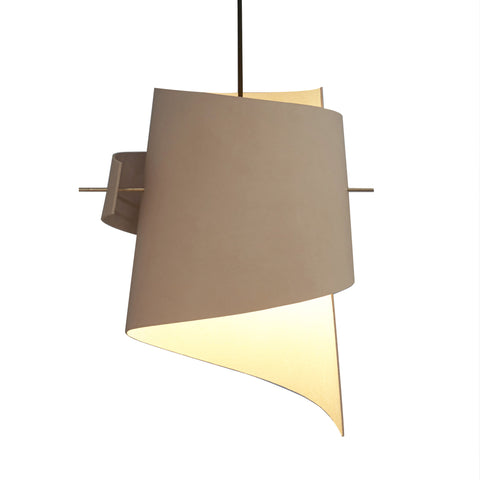 ML01 (Lamp) - Natural Leather - Large