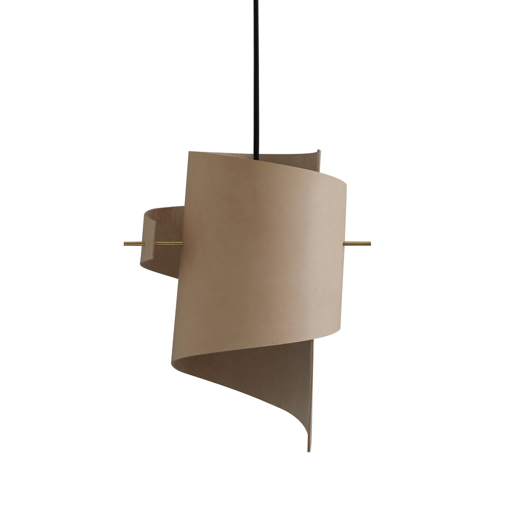 ML01 (Lamp) - Natural Leather - Small