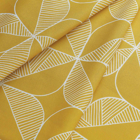 Fabric - Rosette in Yellow