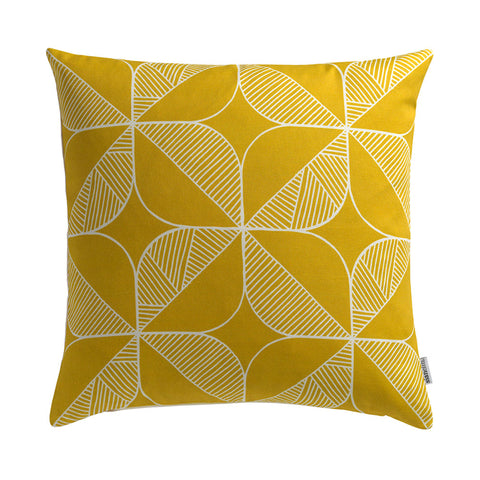 Cushion - Rosette Yellow