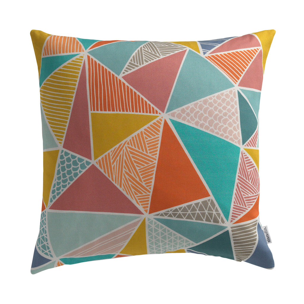 Cushion - Trees in Multi-Colour