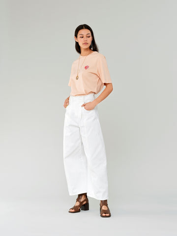 Chloe wide-legged cropped trousers from https://bit.ly/3pA2y9q