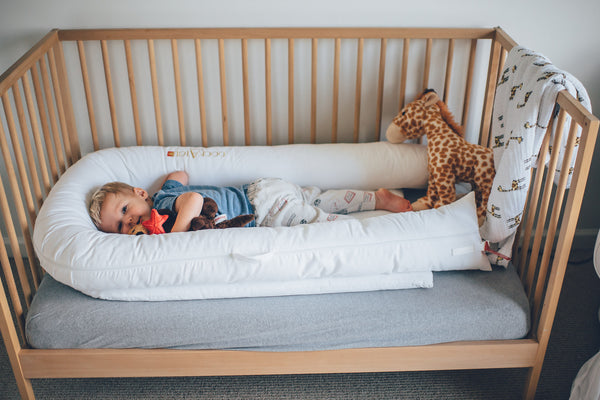 How Big Is A Toddler Bed.Sweet Transitions From Crib To Toddler Bed With Dockatot Grand