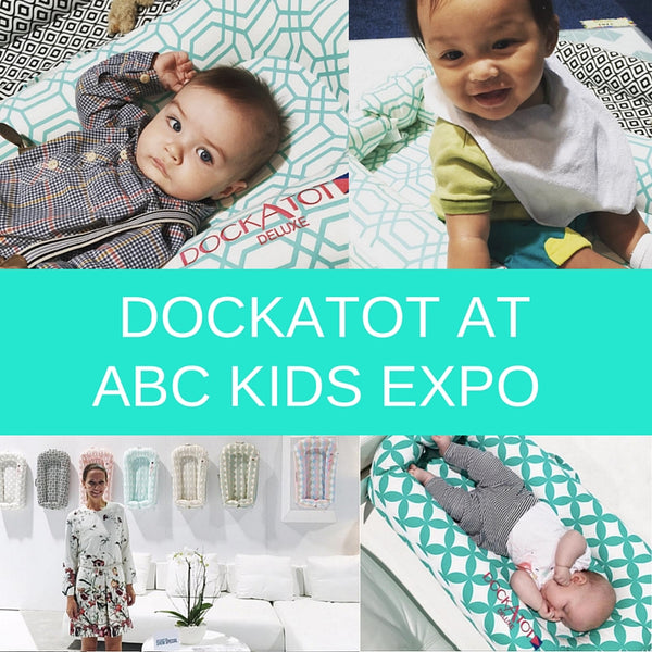 DockATot baby lounger at ABC Kids Expo