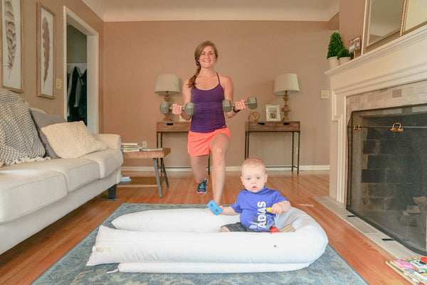 Dockatot fitness tips for moms