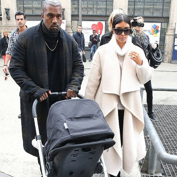 Kim Kardashian and Kanye West DockATot