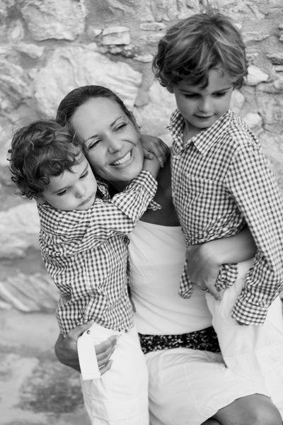 DockATot Founder Lisa Furuland with her Kids