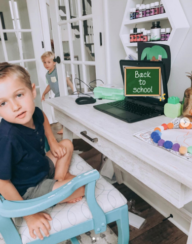 dockatot at home learning tips