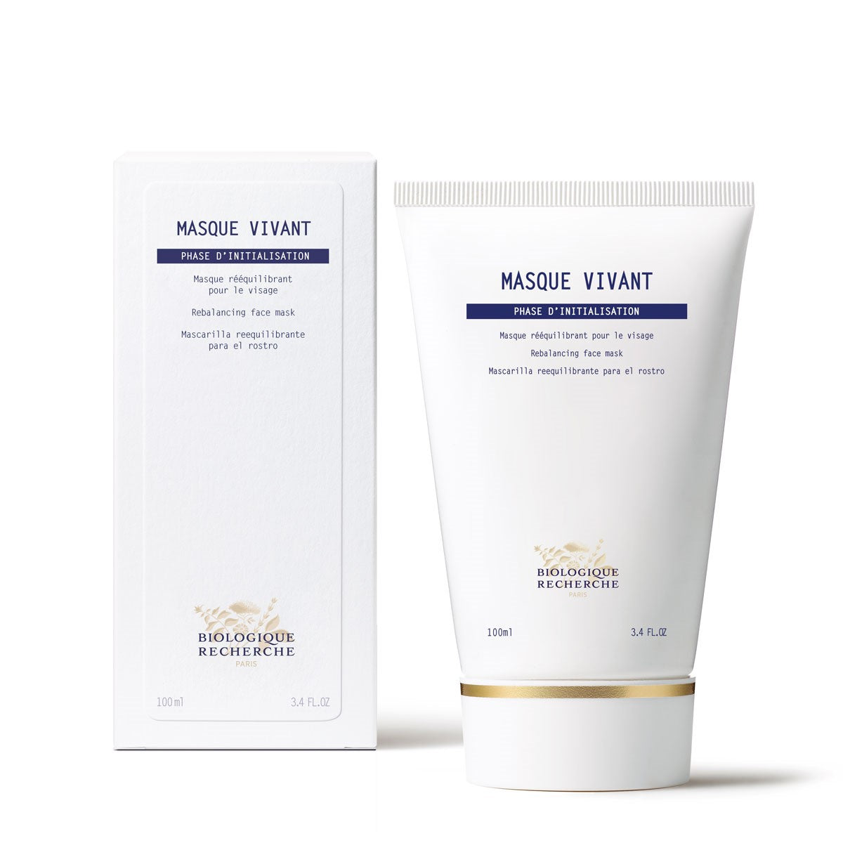 Masque Vivant -- Rebalancing Purifying Face Mask ** 3.4oz/100ml