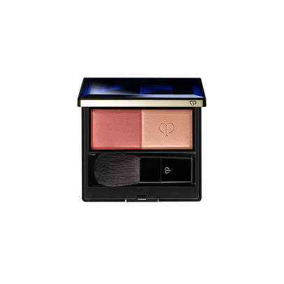 Cle de Peau Powder Blush Duo Set  (Includes Refill, Brush, Case)