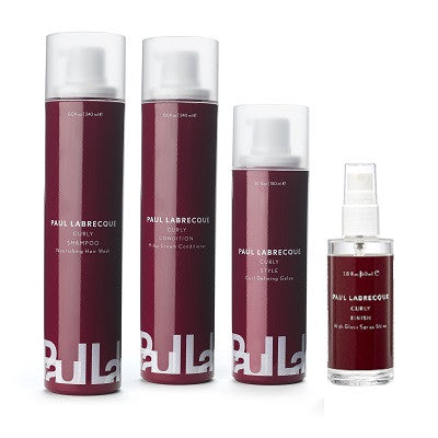 Paul Labrecque Curly Hair Care Collection (4 piece set) Save 10%