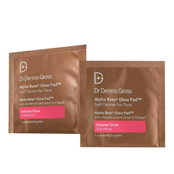 Dr Gross Alpha Beta Glow Pad - Self Tanner For Face Intense Glow 20 packettes
