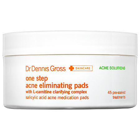 Dr Dennis Gross Acne Eliminating Pads 945 pre-soaked treatments)