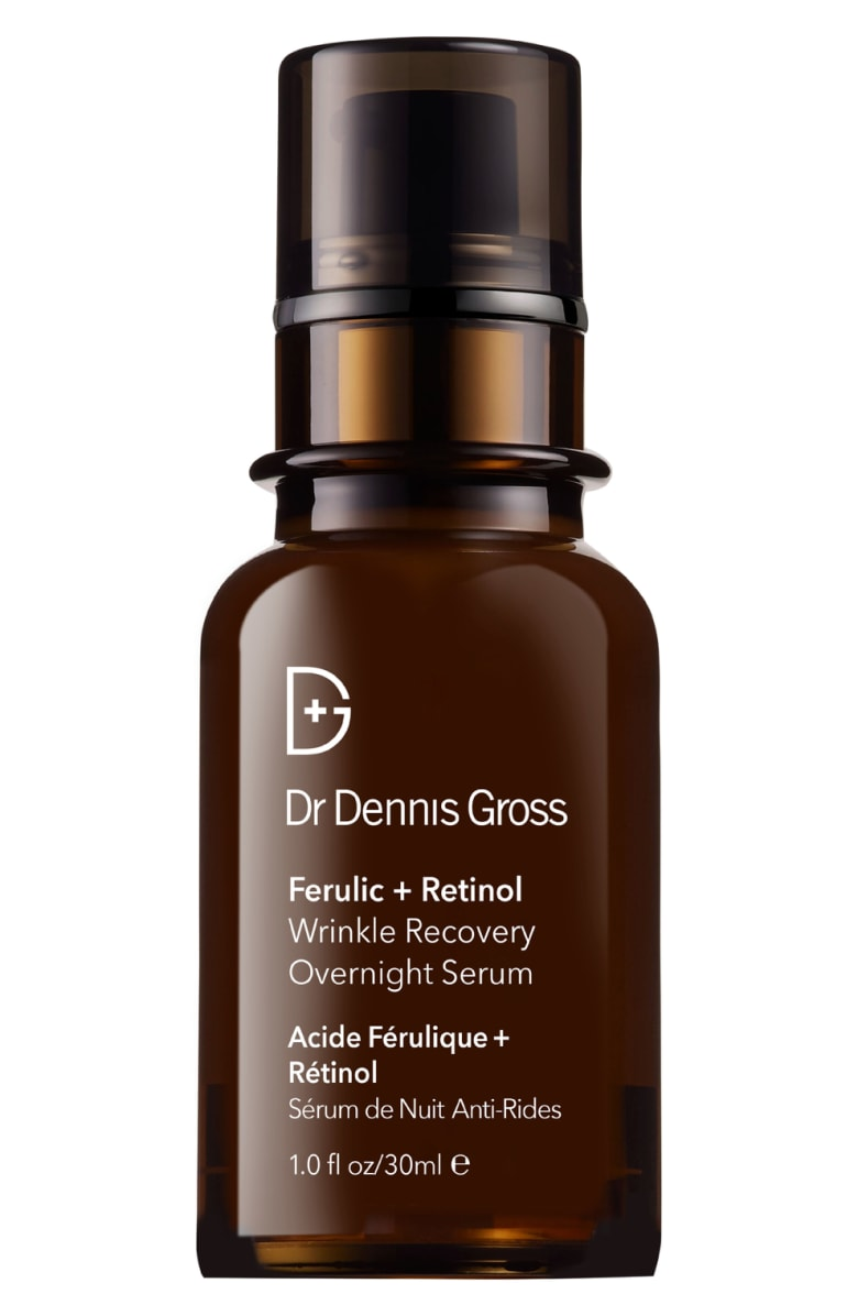 Dr Dennis Gross Ferulic + Retinol Wrinkle Recovery Overnight Serum - 1 fl oz / 30ml