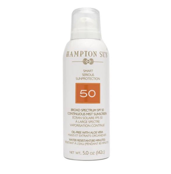 Hampton Sun SPF 50 Continuous Mist Sunscreen (5.03 oz)