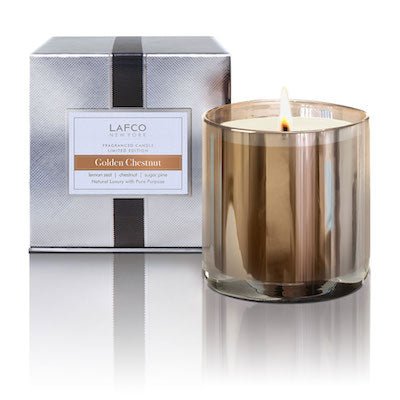 Lafco Golden Chestnut Candle - Limited Edition