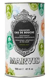 Marvis Mouthwash Strong Mint Concentrate 4.1oz/120ml
