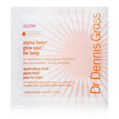 Dr Dennis Gross Skincare Alpha Beta Glow Pads Body (8 pack)