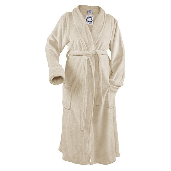 World's Softest Cozy Long Robe Vanilla