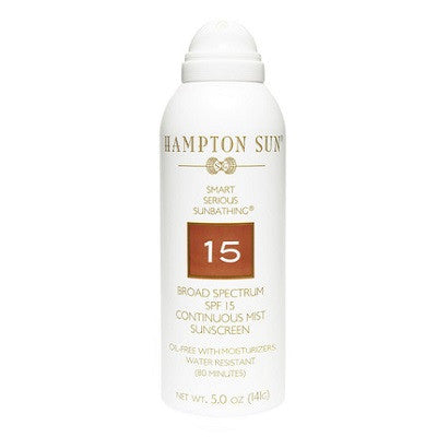 Hampton Sun SPF 15 Continuous Mist Sunscreen (5.03 oz)