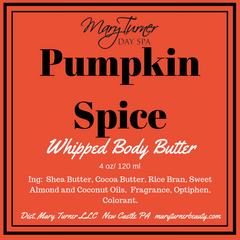 Mary Turner WHIPPED Body Butter - Mary Turner Day Spa & Boutique