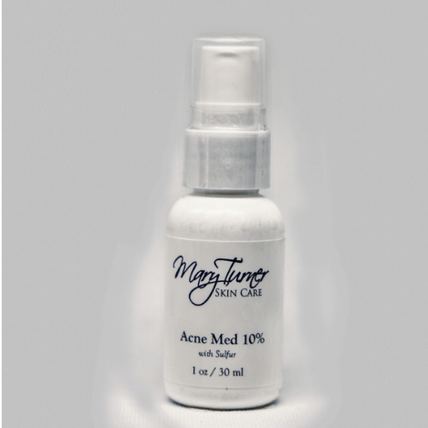 Clearskin Acne Med 10% with 3% Sulfur 1oz - Mary Turner Day Spa & Boutique