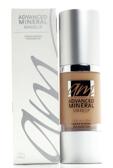 Advanced Mineral Makeup Liquid Foundation 1oz