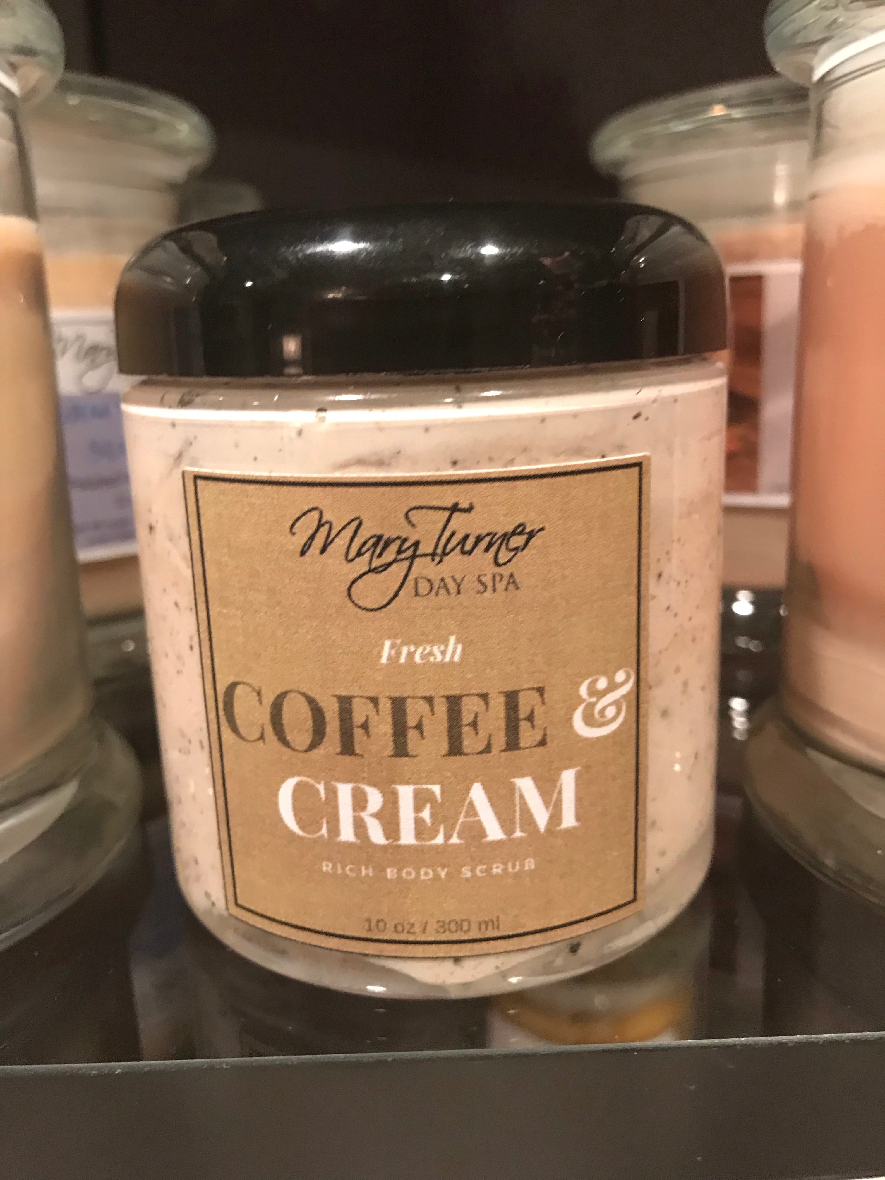 Coffee & Cream Rich Body Scrub - Mary Turner Day Spa & Boutique