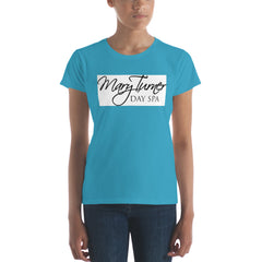 Women's short sleeve t-shirt - Mary Turner Day Spa & Boutique