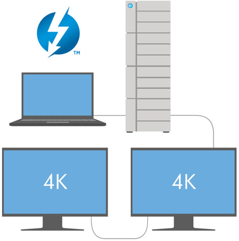 12big LaCie Thunderbolt3™ 4k
