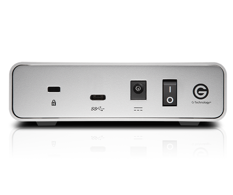 G-DRIVE USB-C back view big