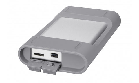 SONY External drive USB 3 with Thunderbolt connections view