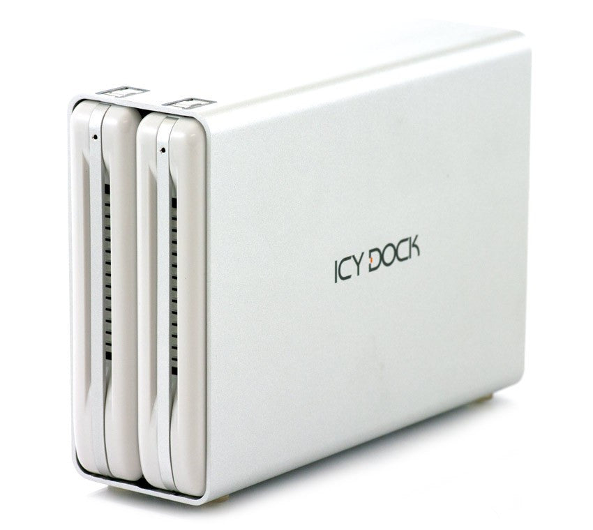ICYDOCK ICYRAID DAS Array 2 x Total Bays - USB 3.0 Externe