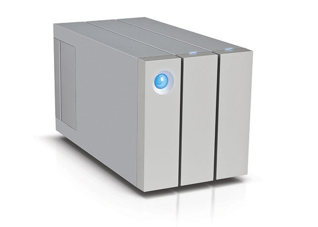 2big Thunderbolt™ 2 & USB3, RAID,  12To front