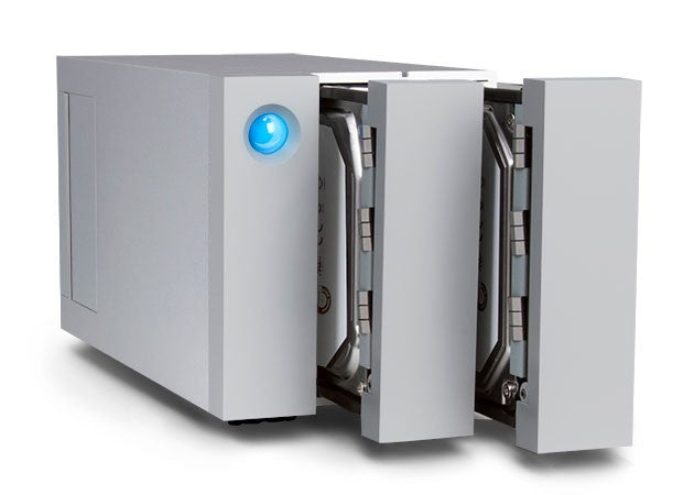 2big Thunderbolt™ 2 & USB3,  RAID, front open